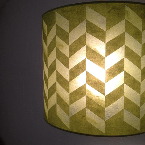 Tess Wakeling Paper Lampshade 3